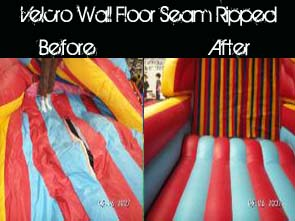 Bounce House Repairs and Sales