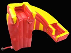 spider mountain inflatable slide for sale